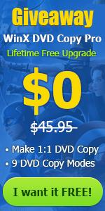 WinX DVD Copy Pro free