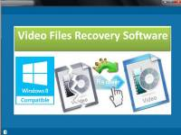 Video Files Recovery Software screenshot