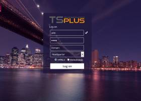 TSplus screenshot