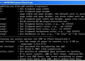 PDF to Flash Magazine Converter screenshot