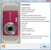 BYclouder Agfaphoto Digital Camera Photo Recovery screenshot