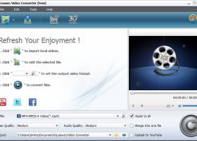 Leawo Free Video Converter screenshot