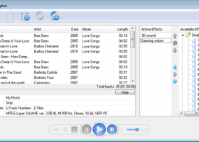 AV Audio Morpher screenshot