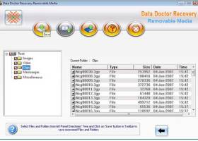 Data Doctor Recovery USB Storage Media screenshot