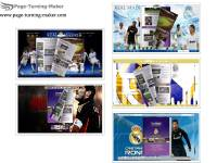 Real Madrid FC Theme for Page Turning Book screenshot