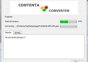 Contenta SVG Converter screenshot