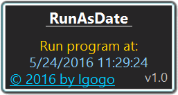 RunAsDate screenshot