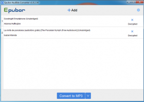 Epubor Audible Converter for Windows screenshot