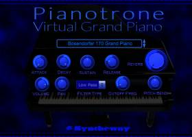 Pianotrone Virtual Grand Piano screenshot