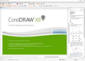 CorelDRAW X8 screenshot