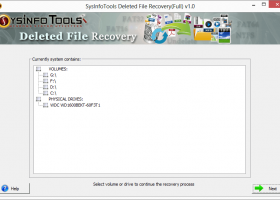 SysInfoTools Deleted File Recovery screenshot
