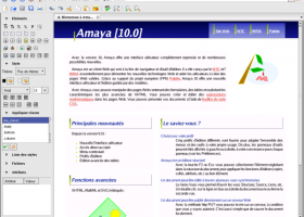 Amaya screenshot