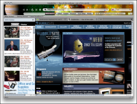 NASA Space theme for Firefox screenshot