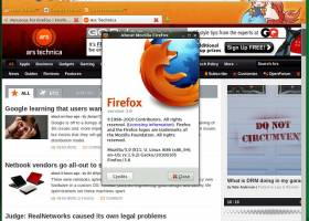 Firefox 3.6 screenshot
