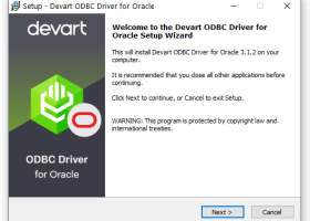 Oracle ODBC driver (32/64 bit) screenshot