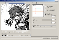 Photoshop Manga Effect Plug-in screenshot