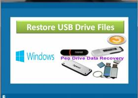 Restore USB Drive Files screenshot