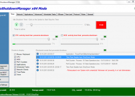 Auto Shutdown Manager Light screenshot