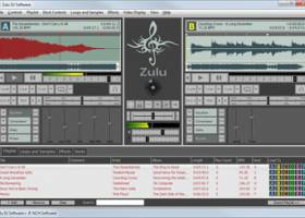 Zulu Free Professional Virtual DJ Software screenshot