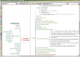 FreeMind screenshot