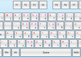 Virtual Keyboard for WinForms for Windows 7 - An on-screen
