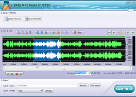 Free MP3 Cutter screenshot