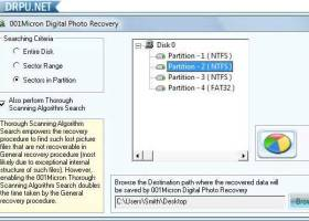 Digital Image Uneraser Software screenshot