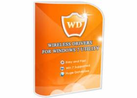 Wireless Drivers For Windows 7 Utility screenshot