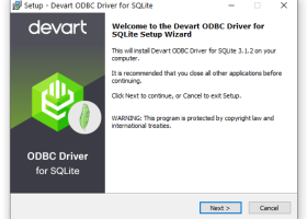 Devart ODBC Driver for SQLite screenshot