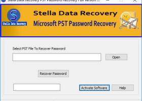 Recover PST Password screenshot