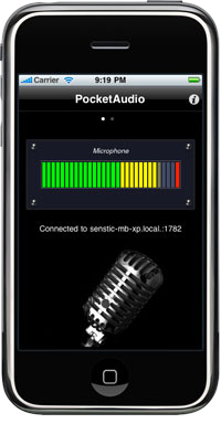PocketAudio (iOS, Android, Windows Phone) screenshot