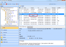 Fix Outlook OST File into PST screenshot