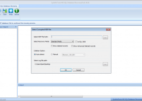 SysinfoTools MS SQL Database Recovery screenshot