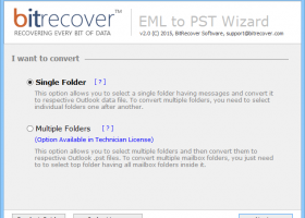 How to Import EML Files to Outlook PST screenshot