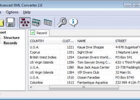 Advanced XML Converter screenshot