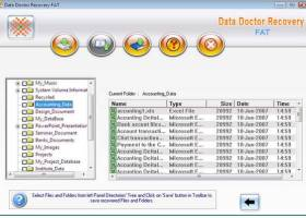 Windows FAT Partition Data Recovery Ex screenshot
