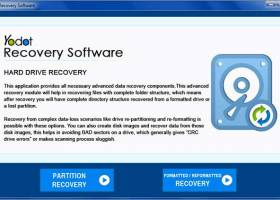 Yodot Hard Drive Recovery screenshot
