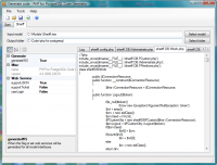 RISE PHP for PostgreSQL code generator screenshot