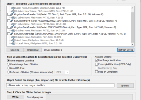 ImageUSB screenshot
