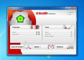 ArcaVir Antivirus screenshot