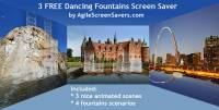 3 FREE Dancing Fountains Screen Saver screenshot