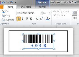 BarCodeWiz OnLabel screenshot