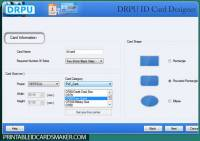 Printable ID Cards Maker Software screenshot