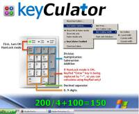 keyCulator screenshot