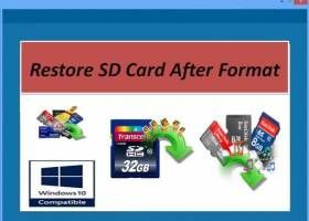 Recover Formatted SD Card screenshot