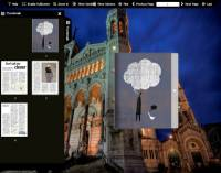 Flash flip book theme of Architecture screenshot