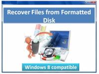 Recover Files from Formatted Disk Ver screenshot
