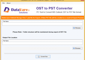 Toolsbaer Migrate OST to PST Tool screenshot
