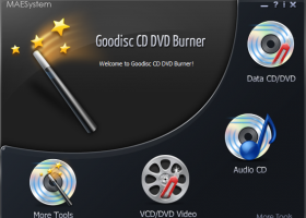 Goodisc CD DVD Burner screenshot