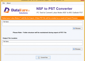 Toolsbaer NSF to PST Conversion Tool screenshot